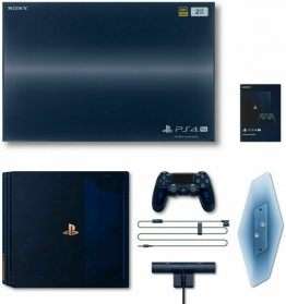 Playstation 4 Pro  500 Million Limited Edition + extra Controller und Headset